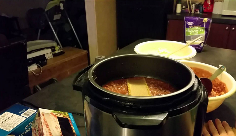 Pressure Cooker from Wolfgang Puck to Make Lasagna