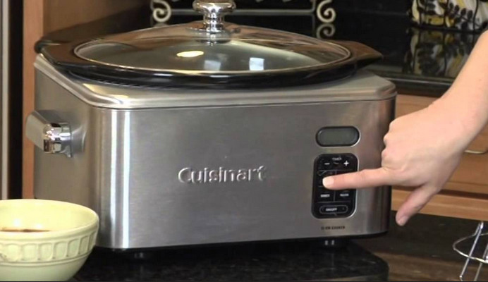 Cuisinart Slow Cooker 6.5 L Programmable