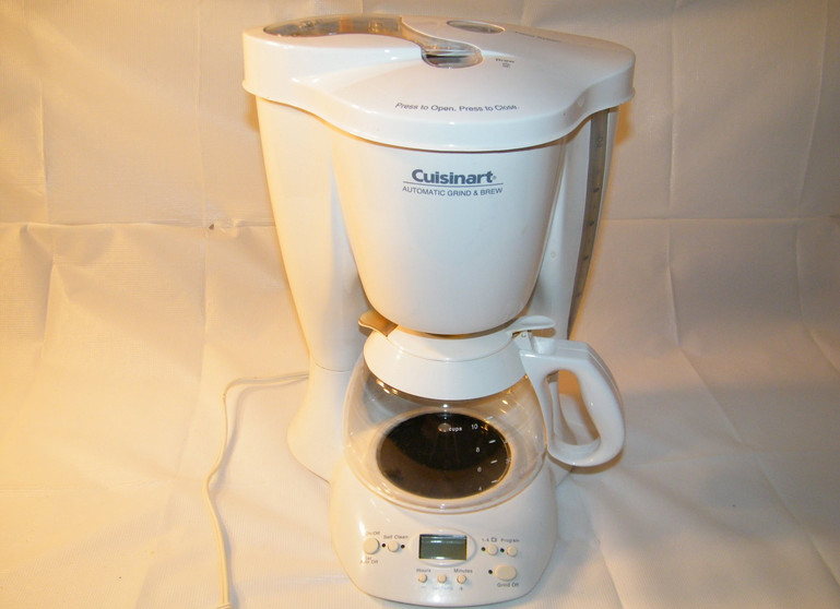 Cuisinart Coffee Maker Automatic Grind and Brew Instructions