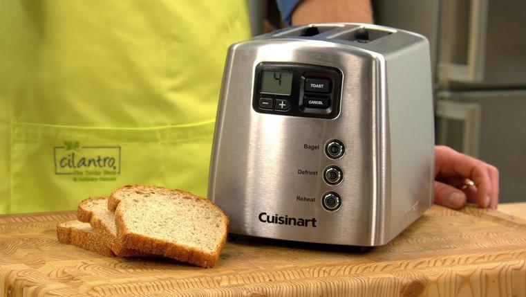 Cuisinart Toaster Bagel Setting