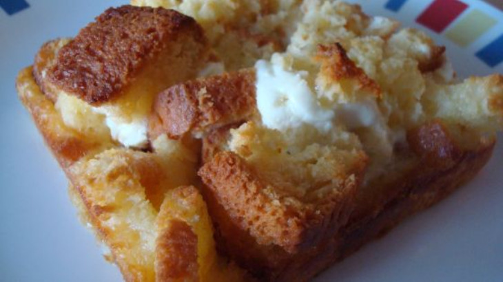 French Toast Strata recipe