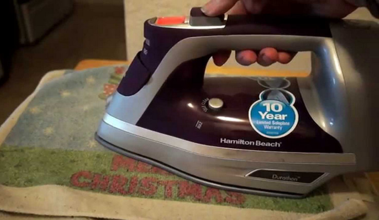 Hamilton Beach Durathon Digital Steam Iron 19901