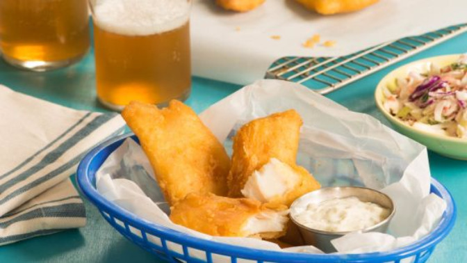 Long john silver's fish batter recipe
