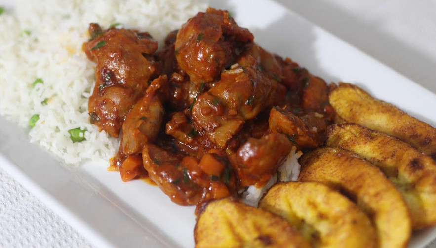Stewed chicken gizzards recipe