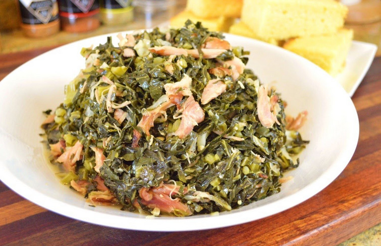 Sweetie Pies collard greens recipe