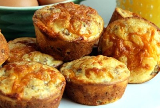 Bisquick Sausage Muffins Recipe as Breakfast Idea