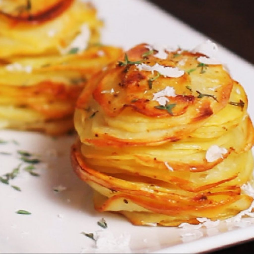 The Simple Recipe for Roasted Potatoes in Muffin Tin