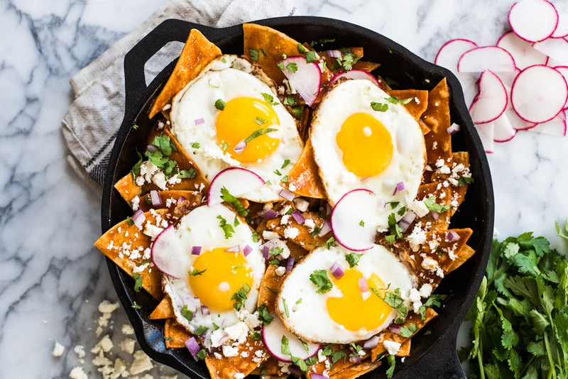 B Chilaquiles Recipe with Tortilla Chips You Can Easily Make