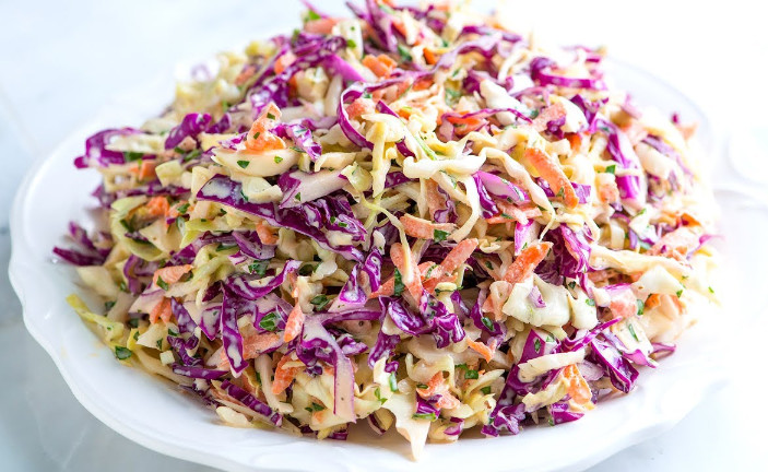Coleslaw Recipe with Apple Cider Vinegar that You Will Crave for