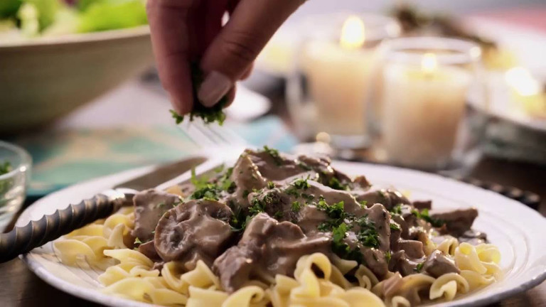 Complete Steps and Ingredients for Beef Stroganoff Recipe Cream of Mushroom Soup Recipe