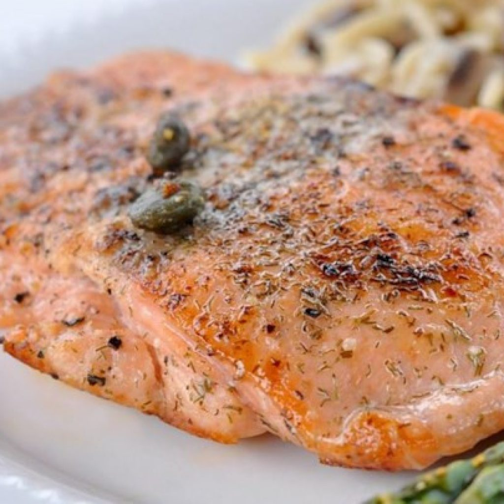 Sauteed Salmon Recipe, the Simple Menu with High Nutrition for Fine Dish