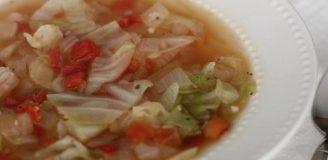 Basque cabbage soup