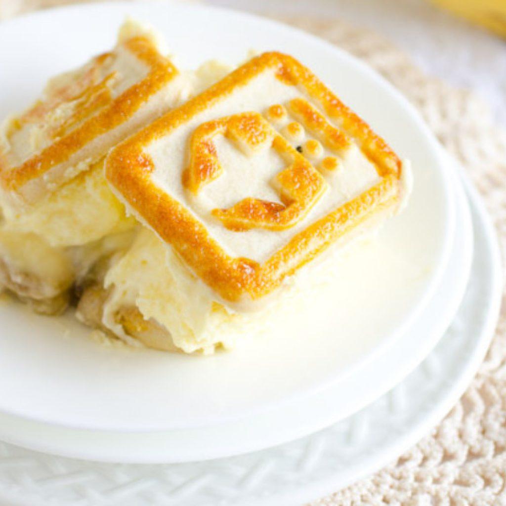 Chessmen Cookies banana pudding