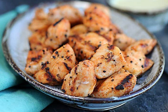 Chick Fil A Grilled Chicken Nuggets recipe