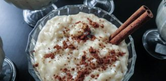 Costa Rican rice pudding