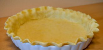 Pie Crust Recipe without Shortening and Use Butter Instead