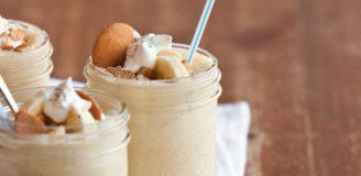 cookout banana pudding milkshake