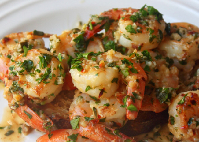 foodwishes garlic shrimp