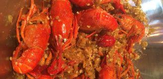 garlic butter crawfish recipe