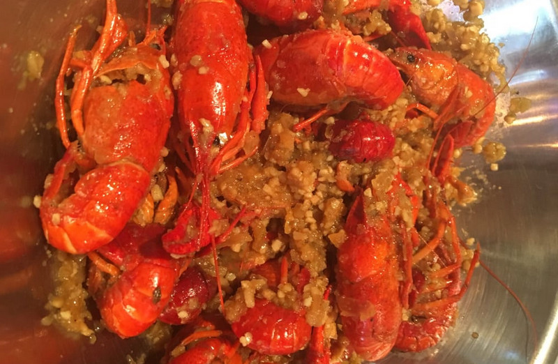 garlic butter crawfish recipe