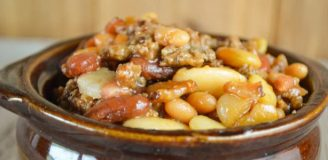 Calico beans crock pot