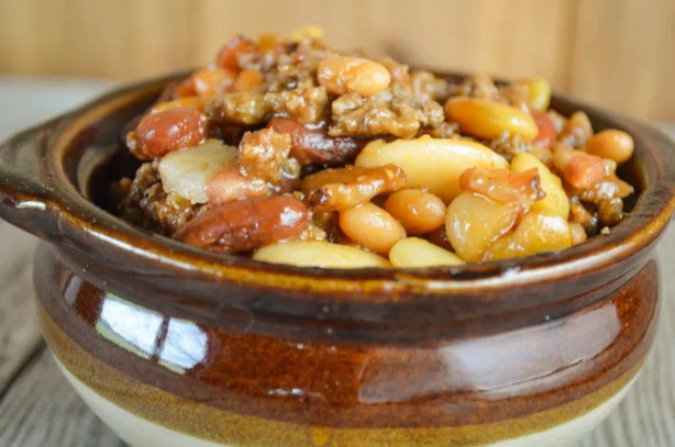 Calico beans crock pot