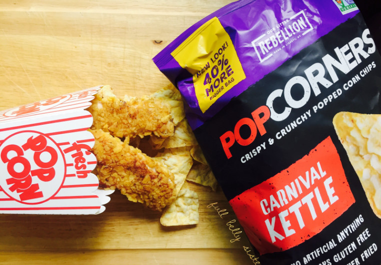 Popcorners Kettle Corn Flavored Chicken Breast Dish to Make for Dinner