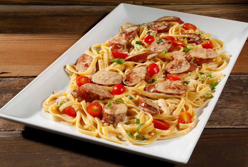 Hillshire Farms smoked sausage and pasta recipes