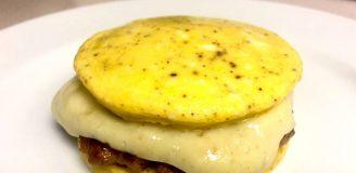 Homemade Jimmy Dean Breadless Breakfast Eggwich