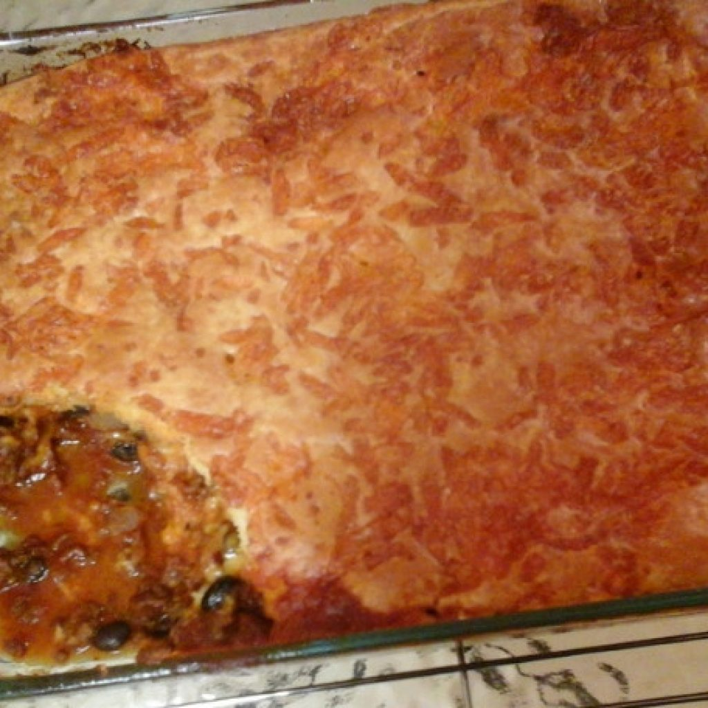 Making Taco Casserole with Bisquick in Your Own Kitchen