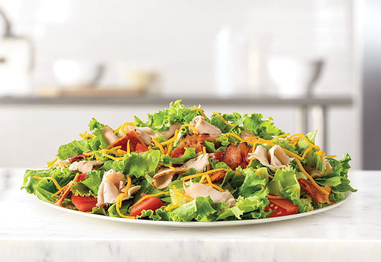Arby's Salad Dressings Nutrition Guidelines for the Healthiest Fast-Food Salads