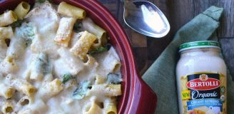 Bertolli Chicken Alfredo Organic Sauce Recipe for Healthy Weekday Dinner