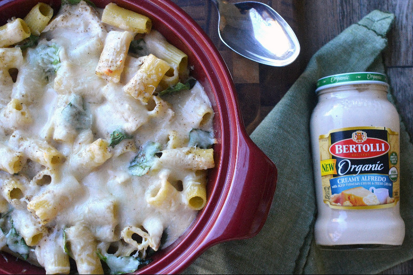 Bertolli Chicken Alfredo Organic Sauce Recipe for Healthy Weekday Dinner