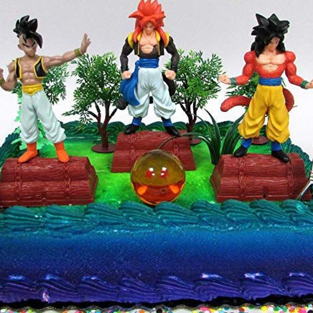 Dragon Ball Z Cake Topper Easy Recipe for Kids' Birthday