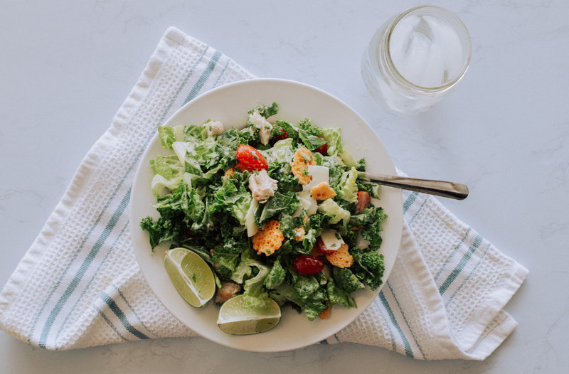 Sweetgreen Kale Caesar Salad Recipe With Various Additional Toppings Tourne Cooking Food Recipes Healthy Eating Ideas