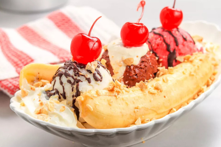 Baskin Robbins Banana Split Recipe for the Delicious Dessert