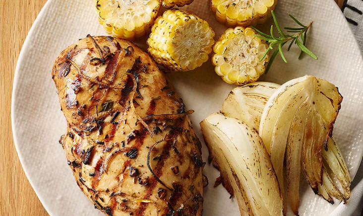 Carrabba's Tuscan Grilled Chicken with Low Calories and Low Carbs