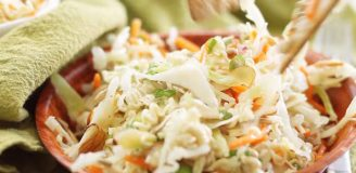Making Oriental Ramen Noodle Salad Coleslaw with Delicious and Amazingly Simple Recipe