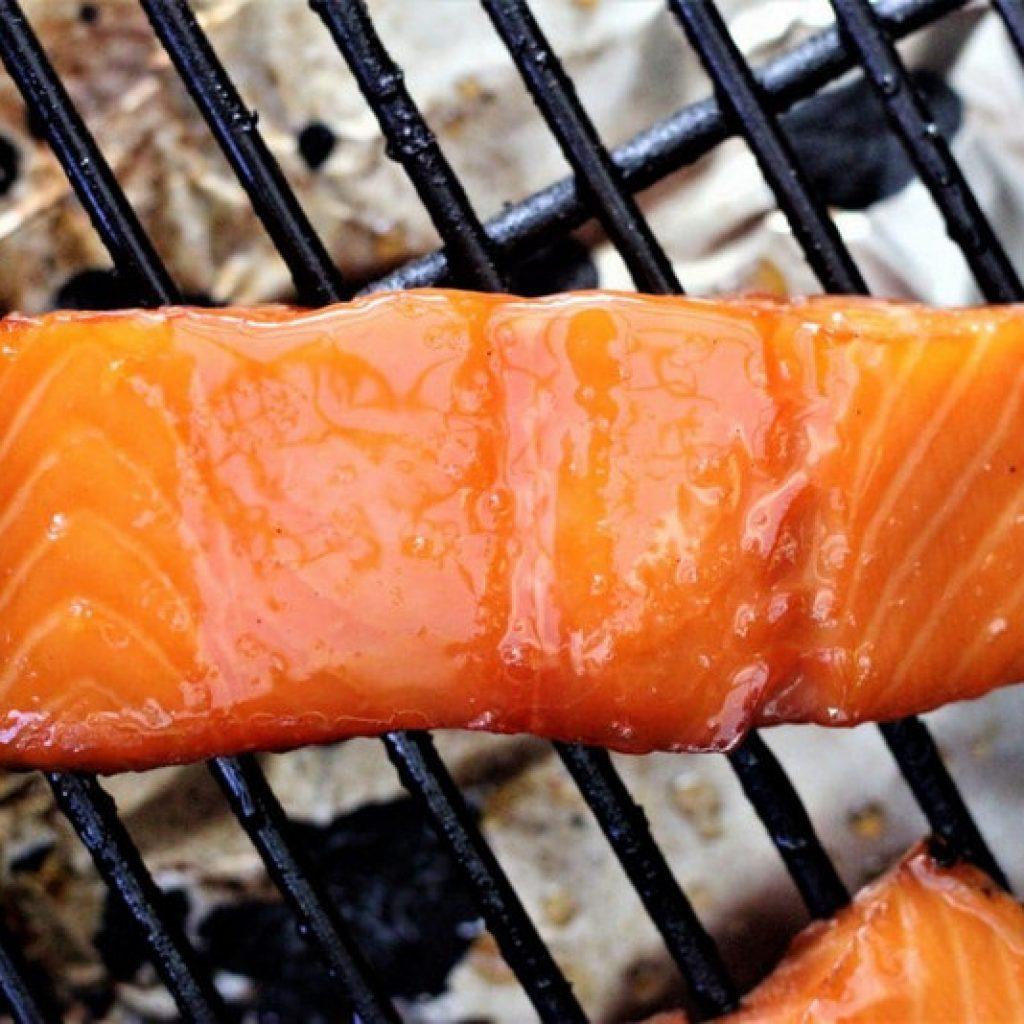 Pellet Grill Smoked Salmon
