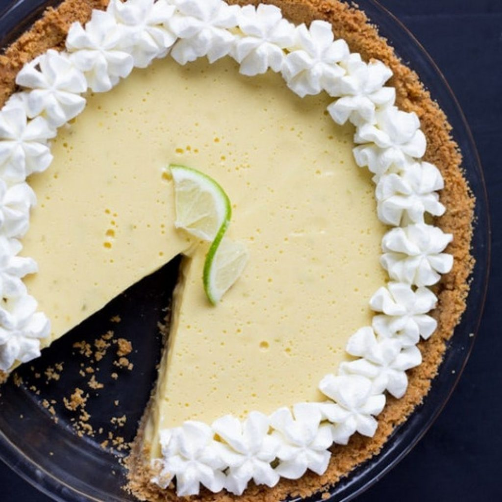 Publix Key Lime Pie with Condensed Milk and Cream for Delicious Flavor