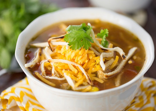 Try Outback Chicken Tortilla Soup Recipe with Slow Cooker