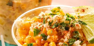 Elote Recipe Cup as the Easy-to-Make Mexican Street Food