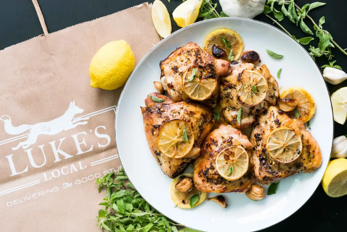 George Foreman Chicken Breast with Lemon and Garlic Recipe