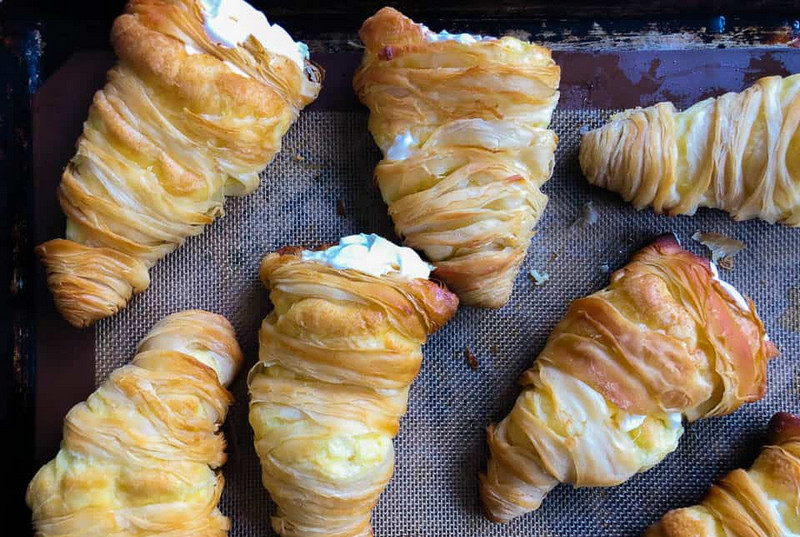 Homemade Carlo's Bakery Lobster Tail Step-by-Step Recipe