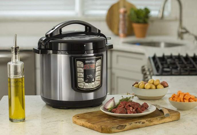 Gourmia Instant Pot, the Smart Pressure Cooker You Should Get