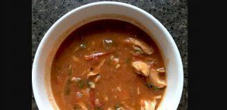 QDoba Tortilla Soup